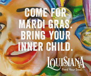 Come for Mardi Gras. Bring your inner child.