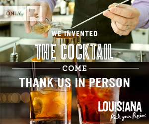 We invented the cocktail. Come thank us in person.