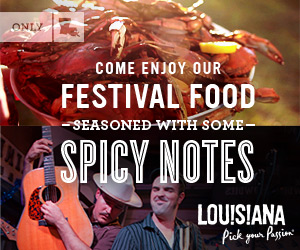 Come Enjoy our Festival Food Seasoned with Some Spicy Notes