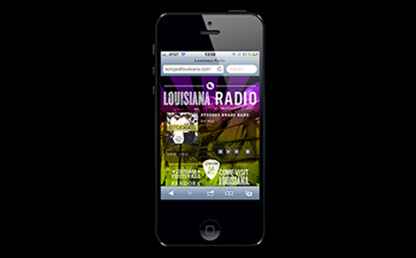 Louisiana Radio: Mobile